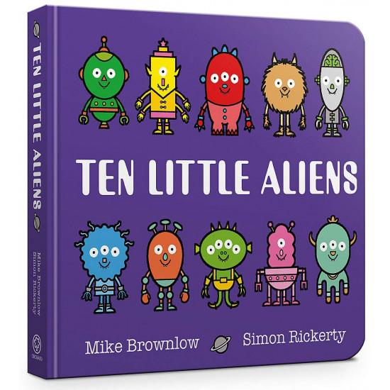 Ten Little Aliens (Board Book)