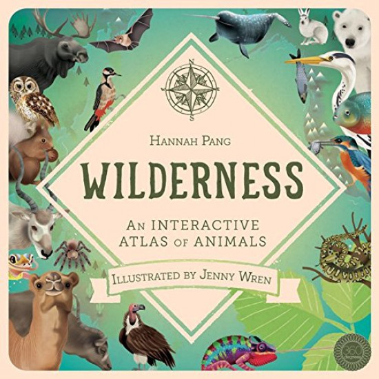 Wilderness: An Interactive Atlas of Animals - More stock expected 6th Aug