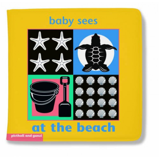 Baby Sees - At the Beach (Bath Book)